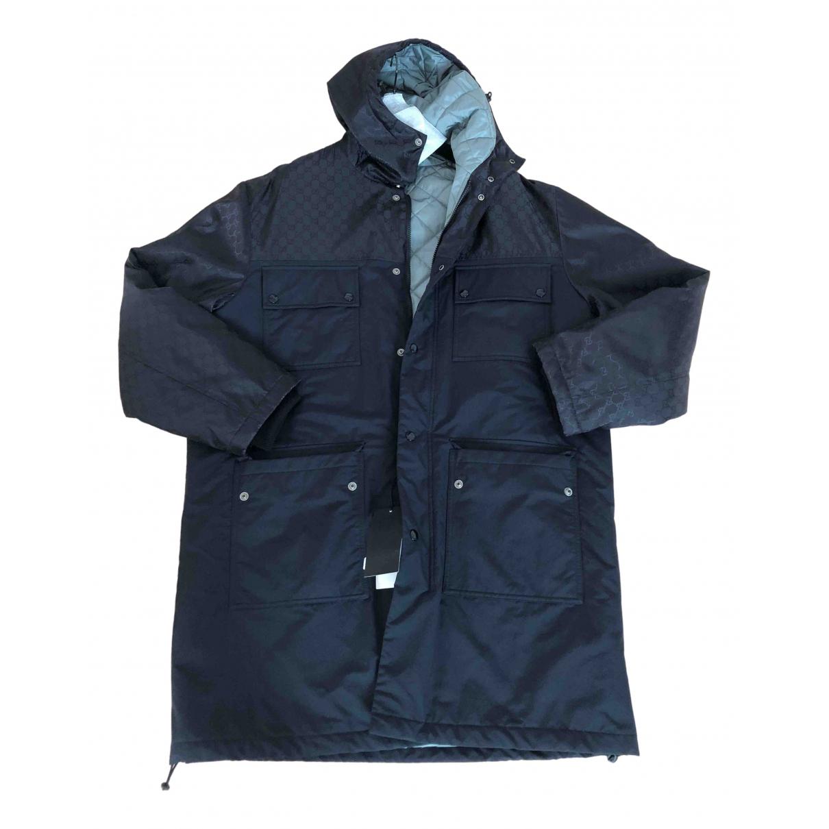 Gucci \N Black coat  for Men 48 IT