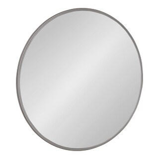 Kate and Laurel Caskill Round Framed Wall Mirror - 30