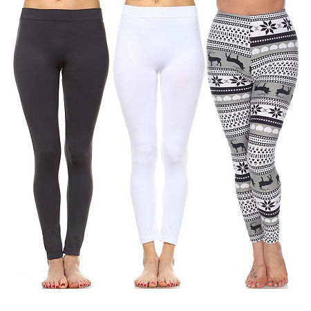 White Mark Womens Legging, One Size , Multiple Colors
