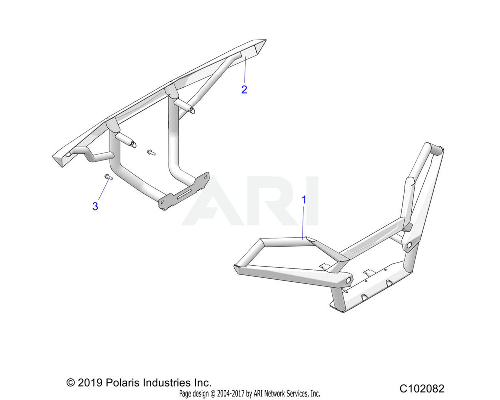 Polaris OEM 2206398 K-HARDWARE | [NOT ILLUSTRATED]