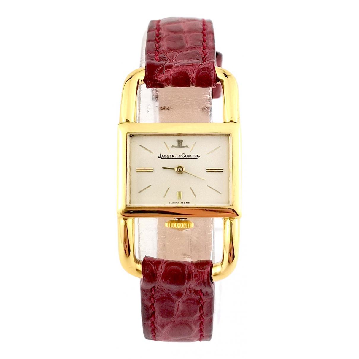 Reloj Etrier de Oro amarillo Jaeger-lecoultre
