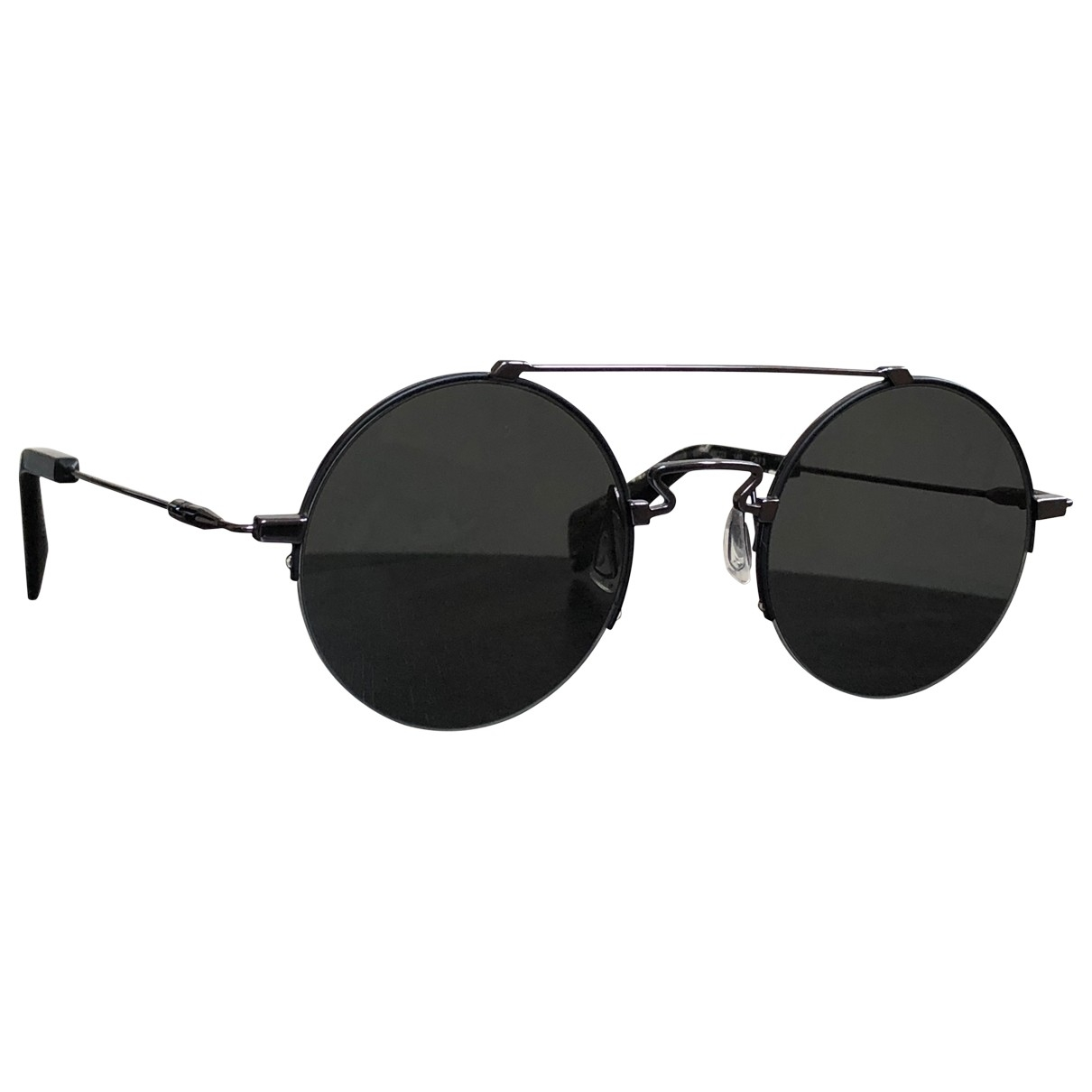 Yohji Yamamoto \N Black Metal Sunglasses for Women \N