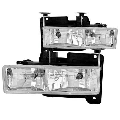 Anzo Crystal Headlight Set - ANZ111004