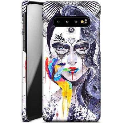 Samsung Galaxy S10 Smartphone Huelle - Janus von Minjae Lee
