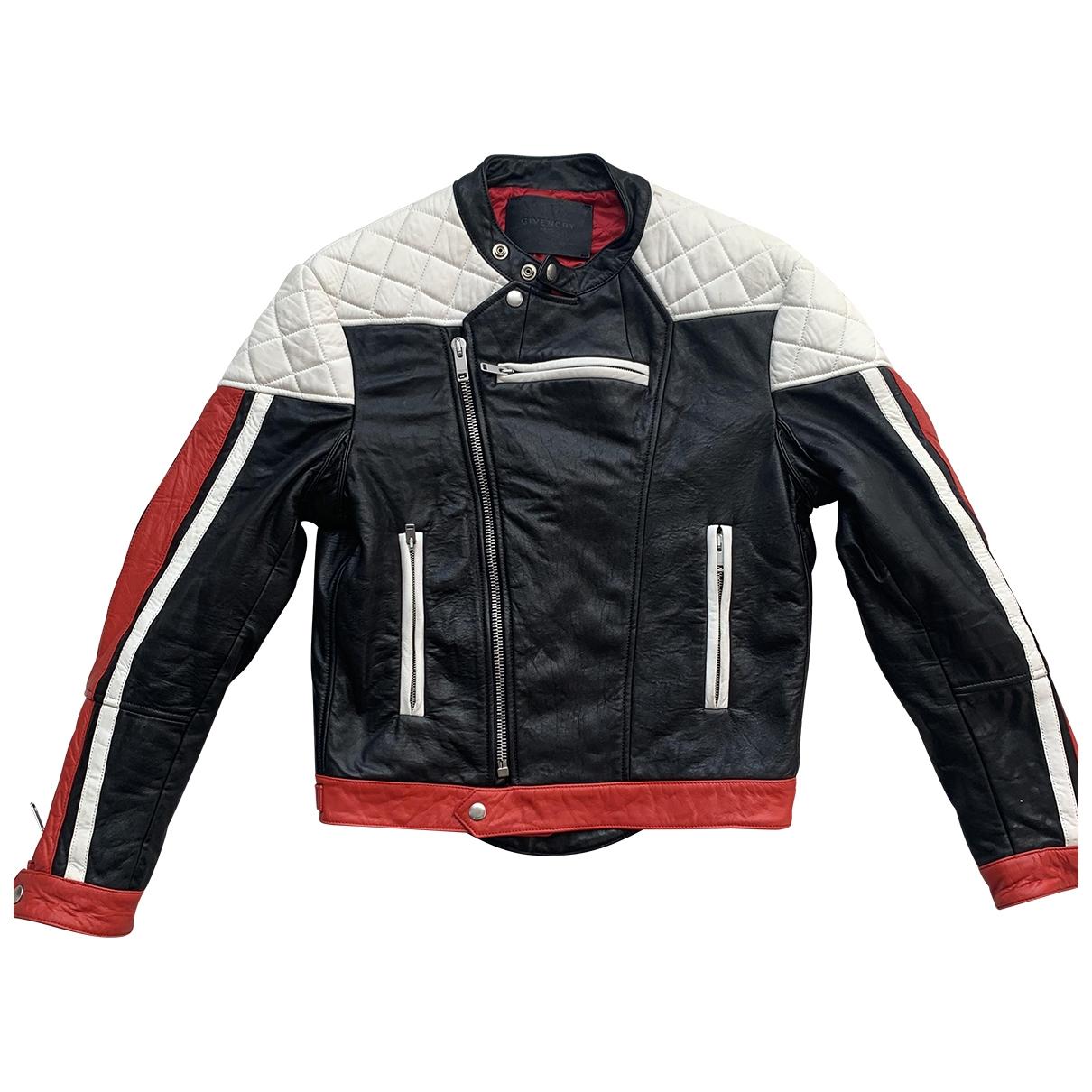 Givenchy \N Black Leather jacket  for Men S International