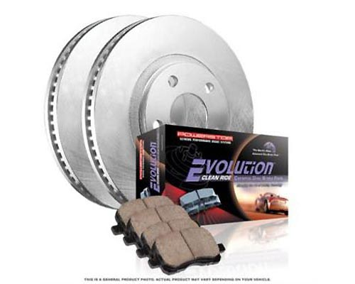 Power Stop KOE2924 OE Replacement Brake Kit Front KOE2924