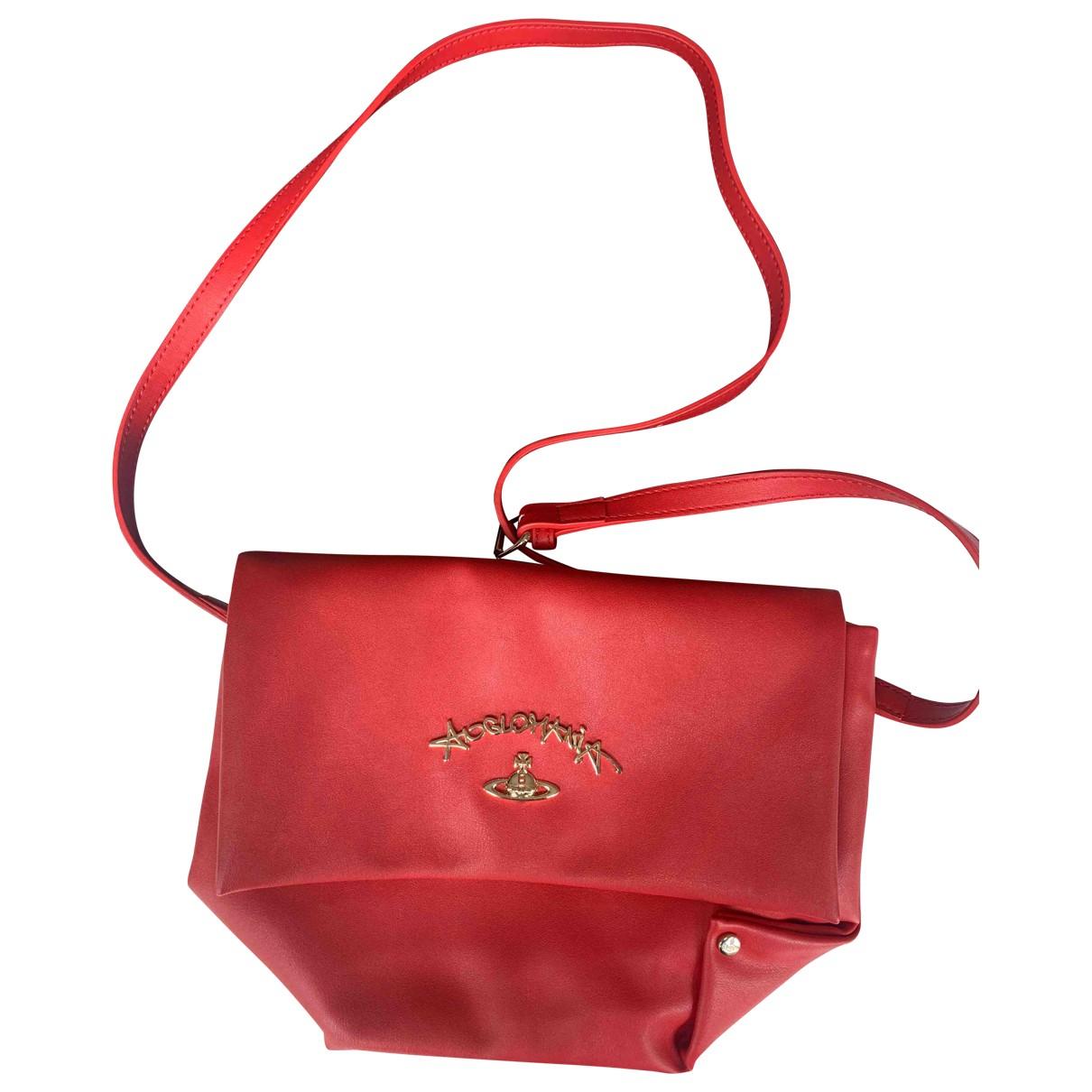 Vivienne Westwood Anglomania \N Handtasche in  Rot Kunststoff