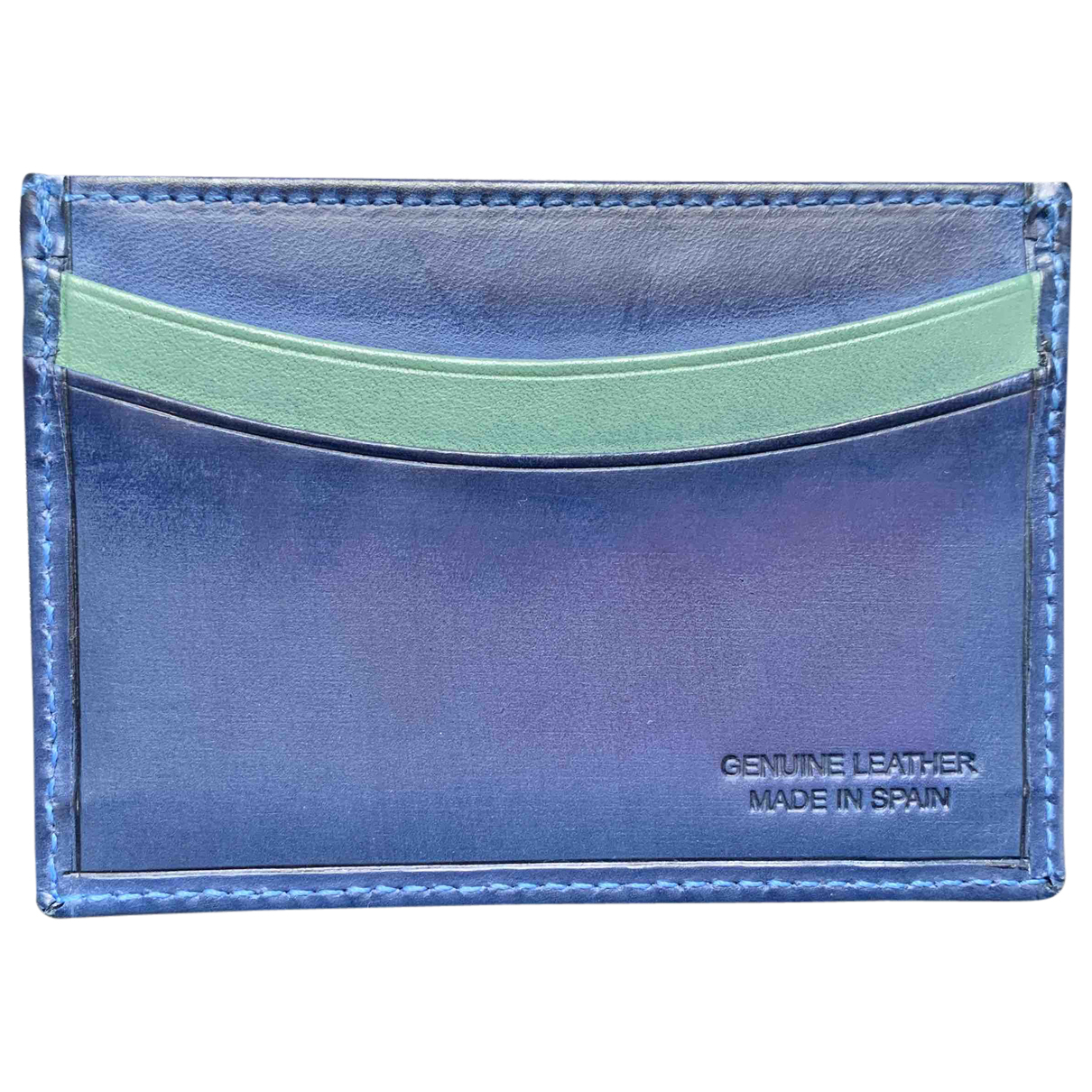 Paul Smith \N Blue Leather Small bag, wallet & cases for Men \N