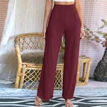 Pantalones Canale Liso Elegante