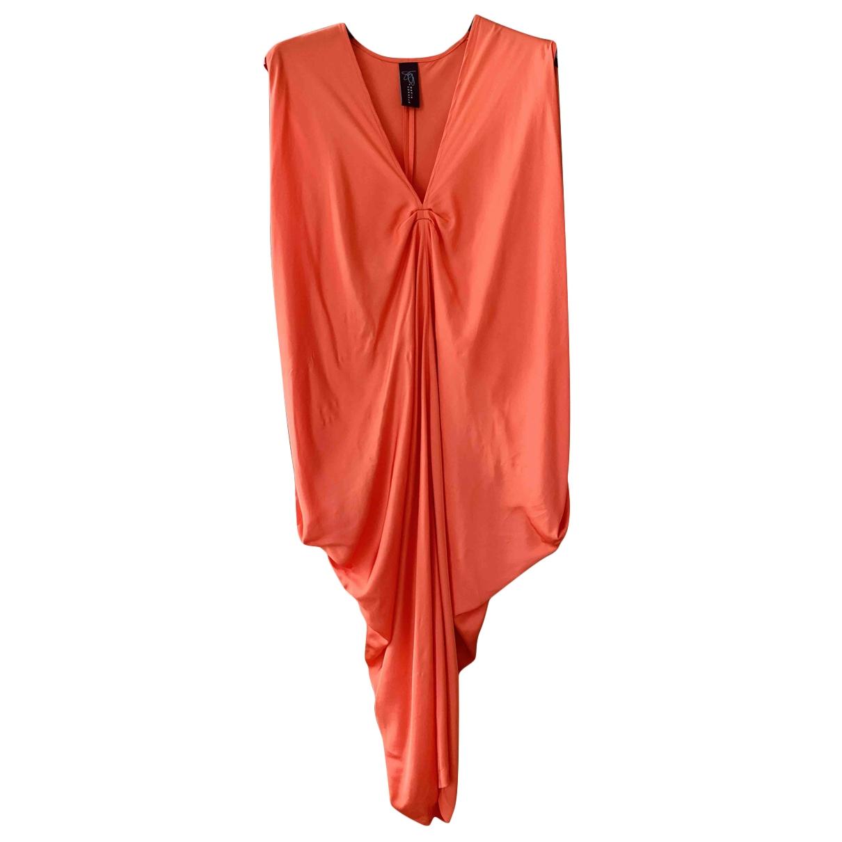 Zero+maria Cornejo \N Kleid in  Rot Seide