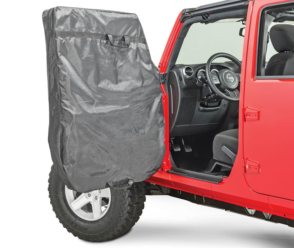 MasterTop 13110024 Jeep Hard Door Storage Bags For 1976-2020 Jeep CJ, JK, JL Wrangler MasterTwill Pair