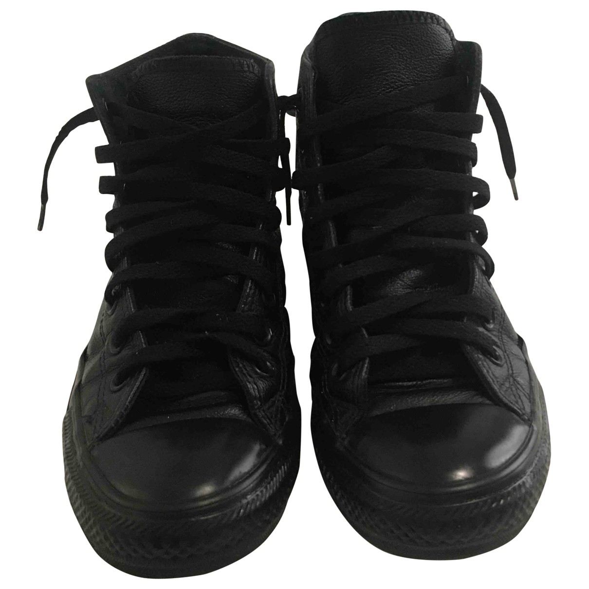 Converse \N Black Leather Boots for Men 41 EU