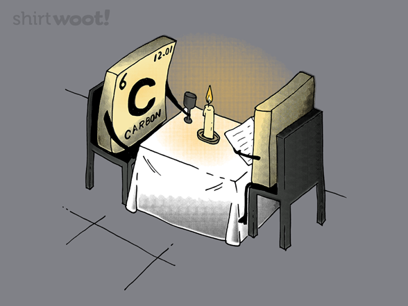 Carbon Dinner Date T Shirt