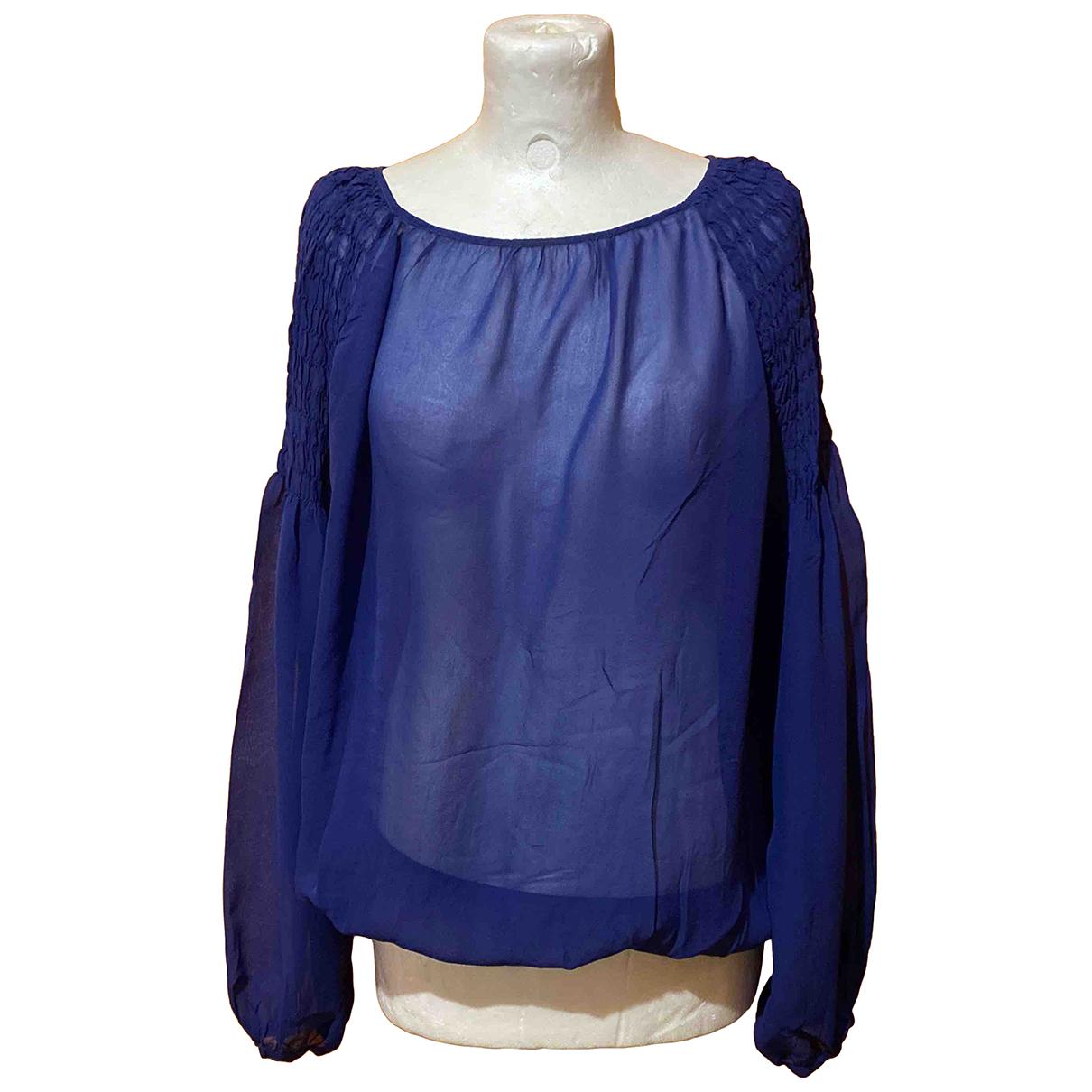 Trussardi Jeans N Blue  top for Women L International