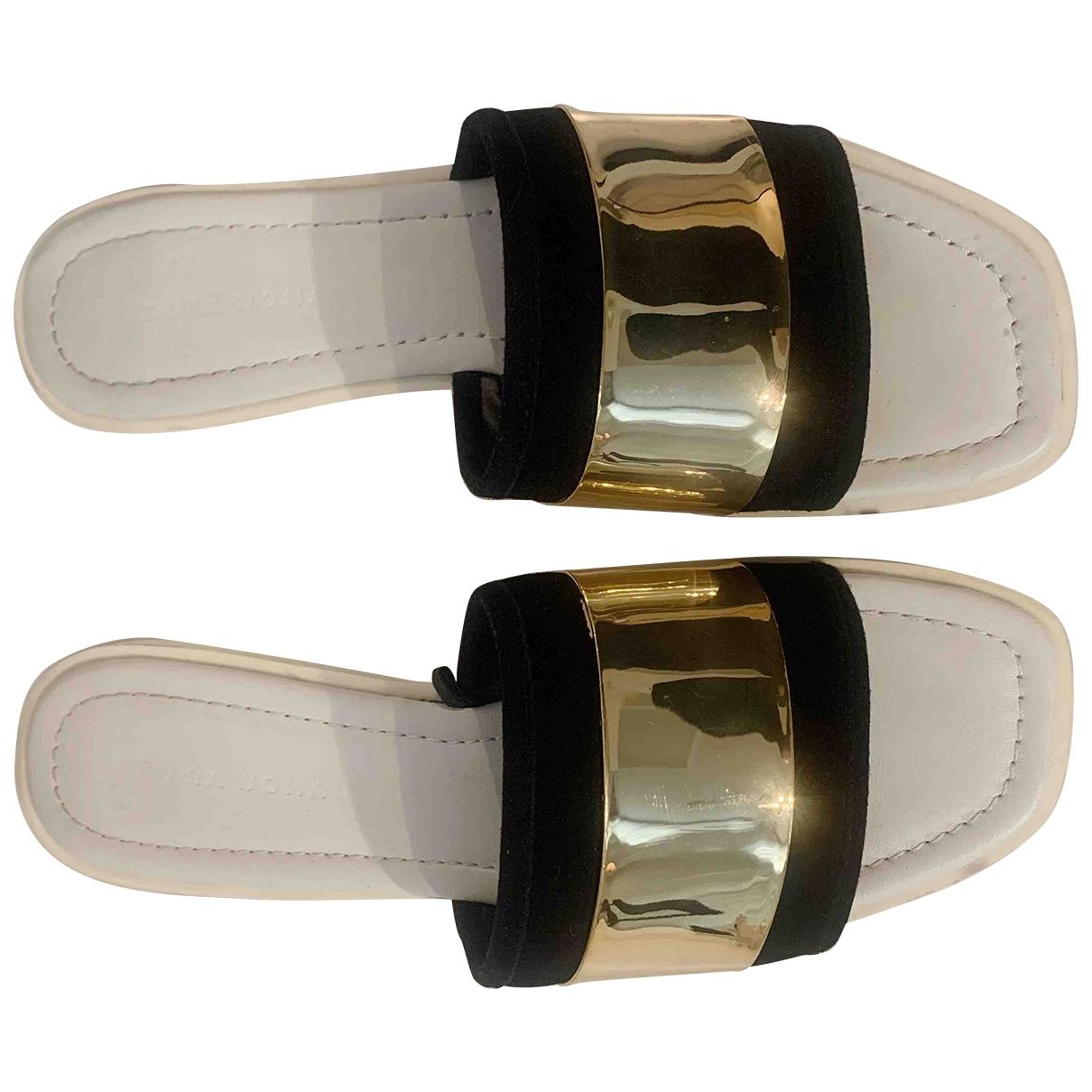 Zara - Sandales   pour femme - dore