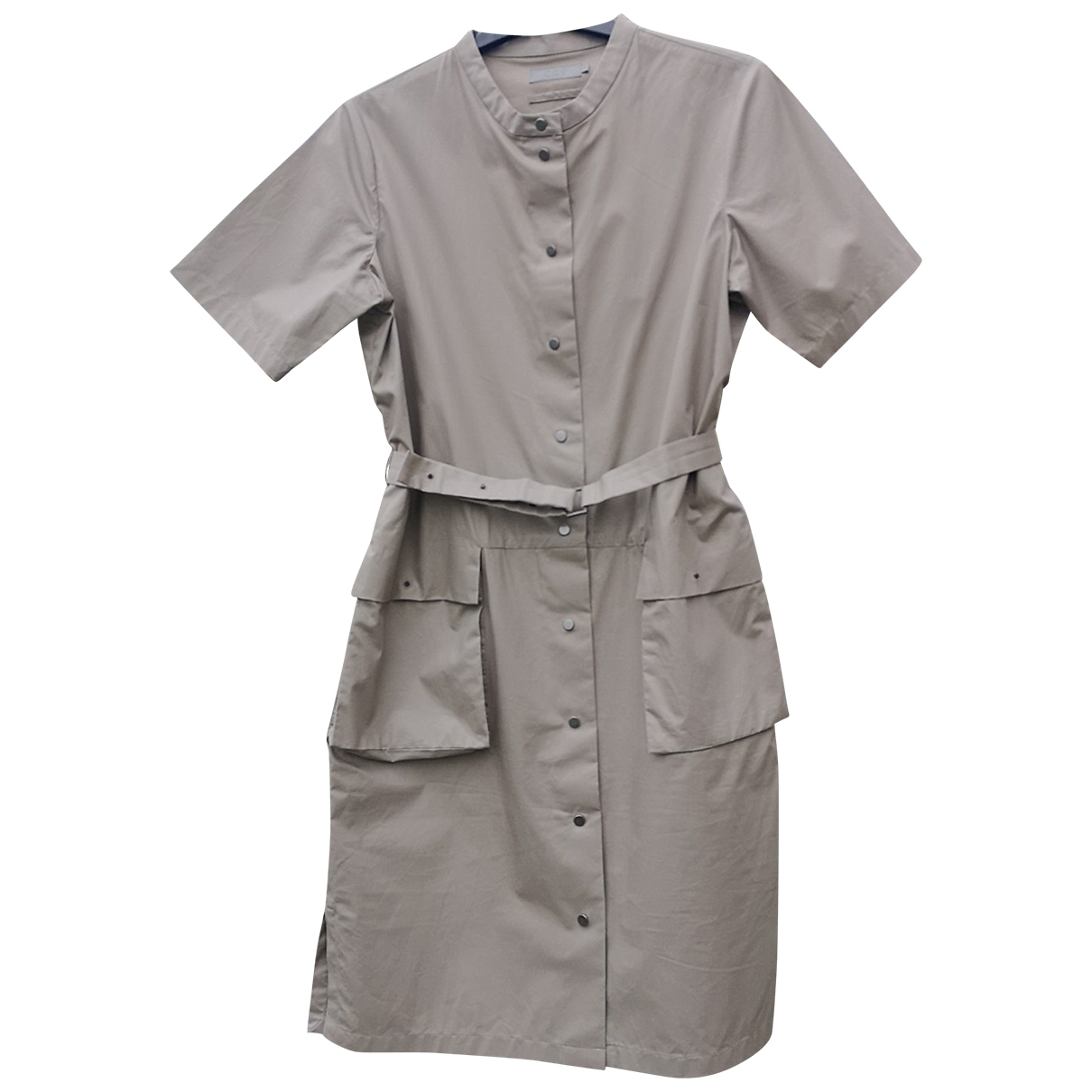 Cos - Robe   pour femme en coton - gris