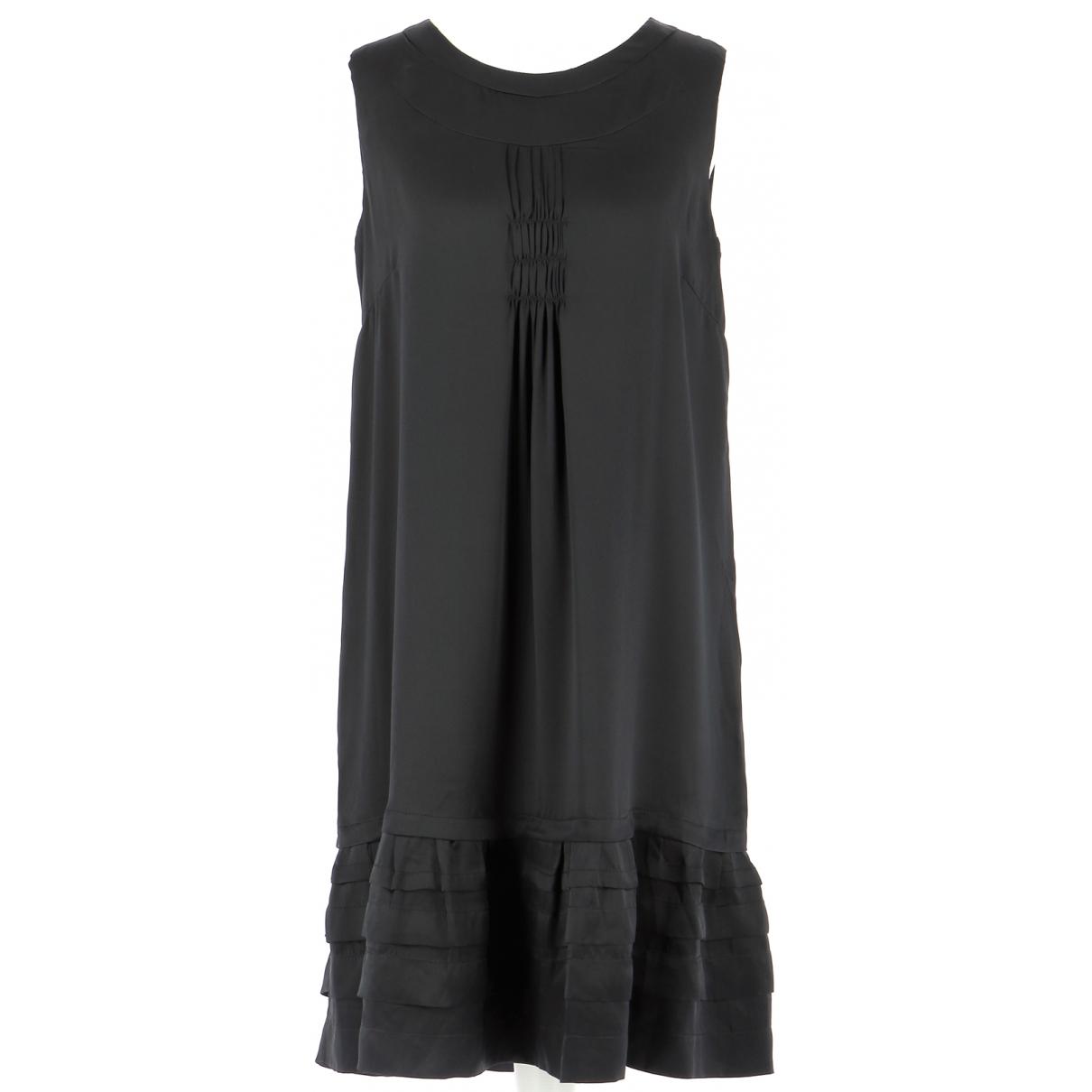 Pablo \N Kleid in  Schwarz Seide