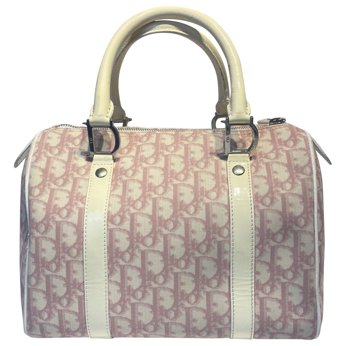 Dior - Sac a main Bowling pour femme en toile - rose