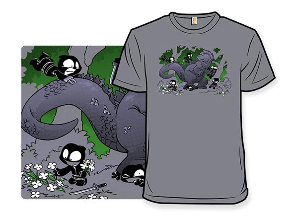 Oblivious Ninja Is Lucky Ninja T Shirt