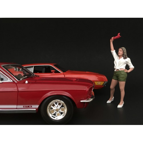 70s Style Figurine II for 1/24 Scale Models by American Diorama