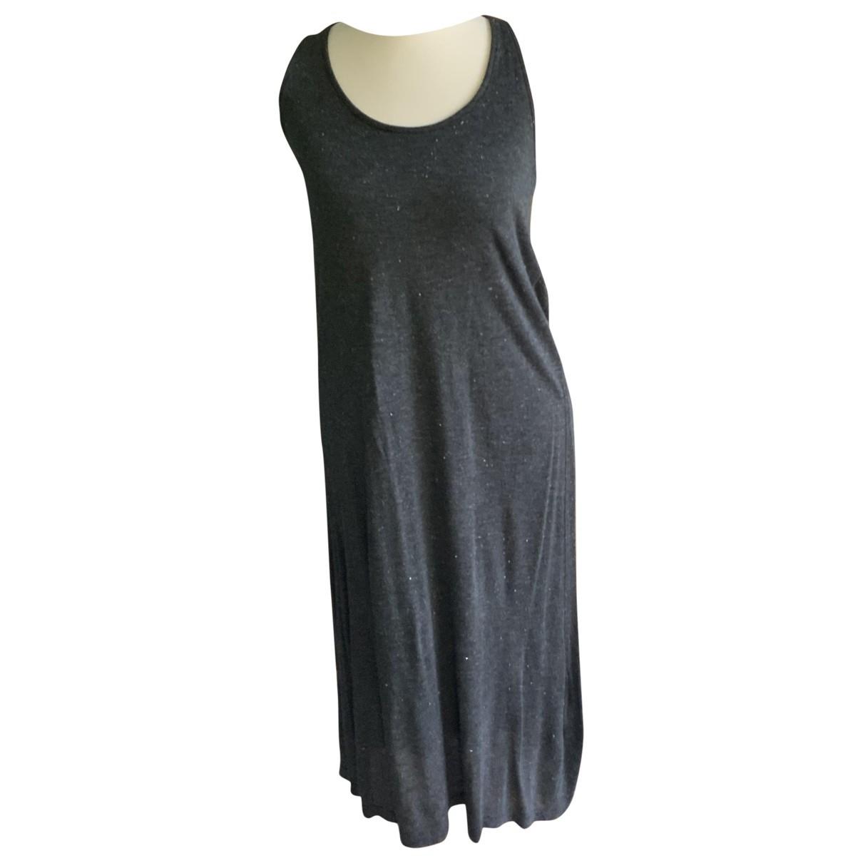 Splendid \N Kleid in  Grau Synthetik