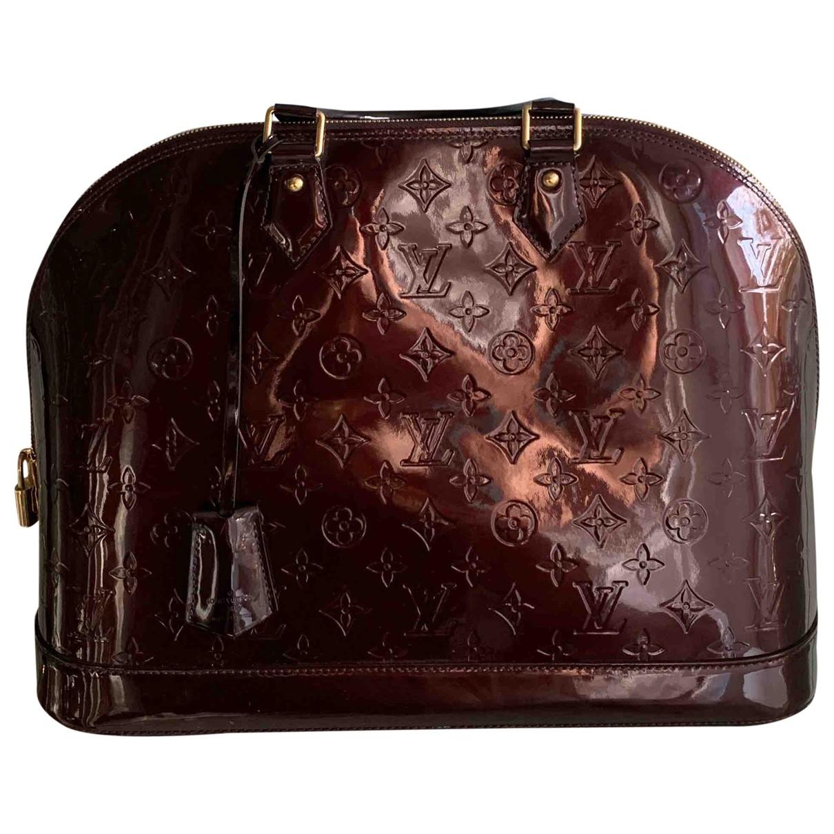 Bolso  Alma de Cuero Louis Vuitton