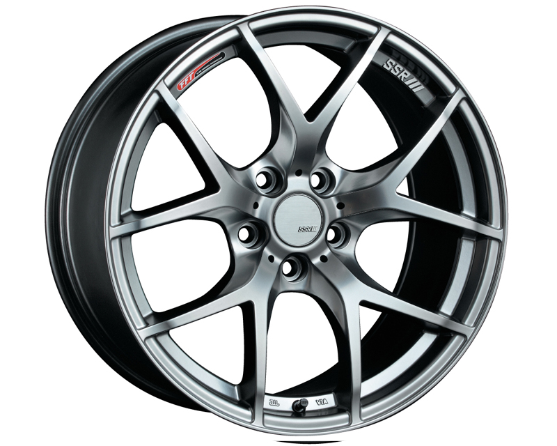 SSR GTV03 Wheel Silver 18x7.5 5x114.3 43mm