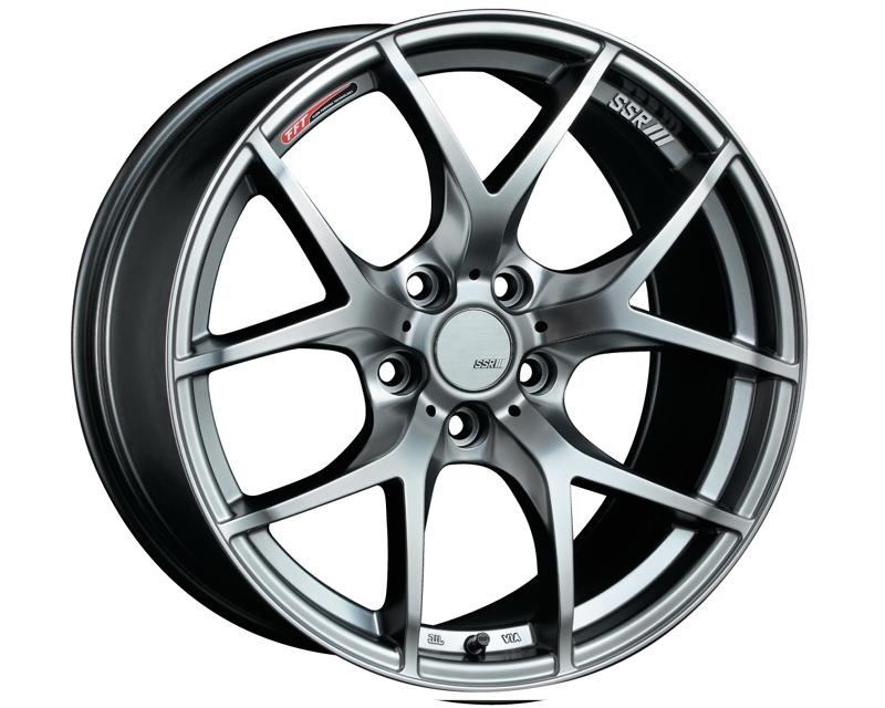 SSR GTV03 Wheel Silver 18x8.5 5x100 44mm