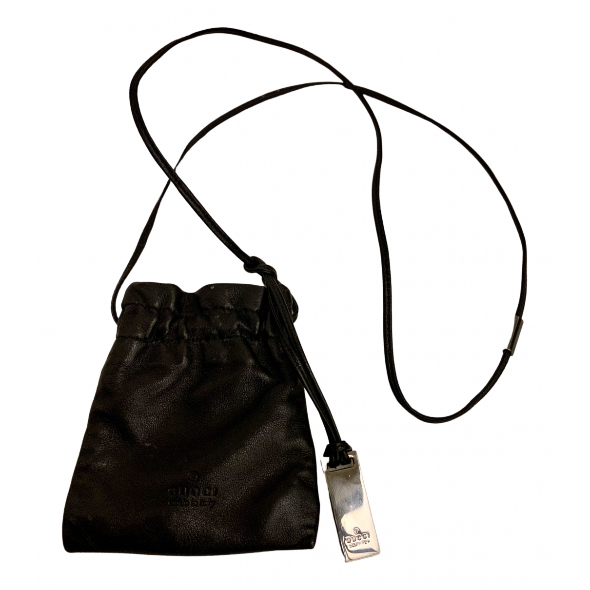 Gucci N Black Leather Purses, wallet & cases for Women N