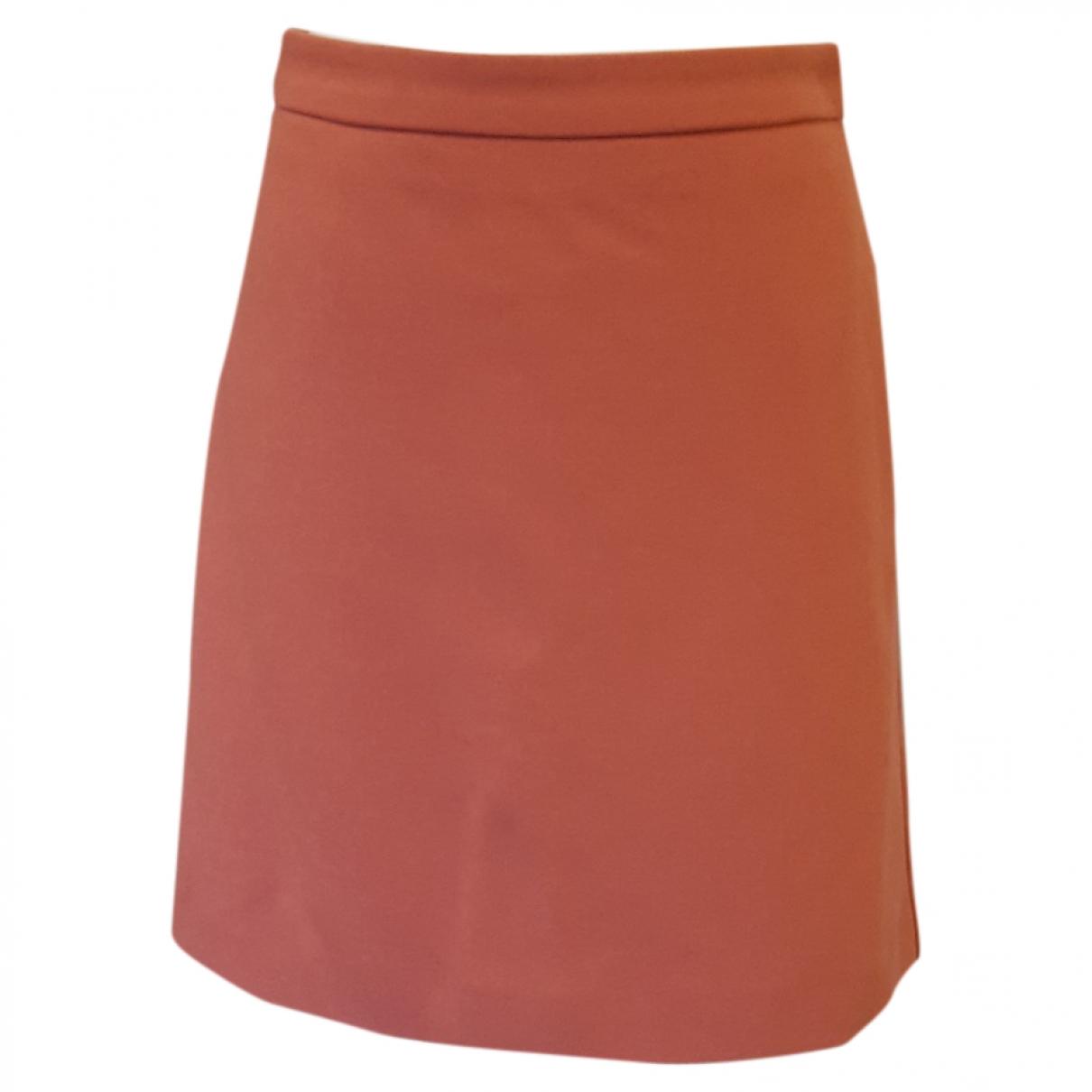 Hallhuber - Jupe   pour femme - orange