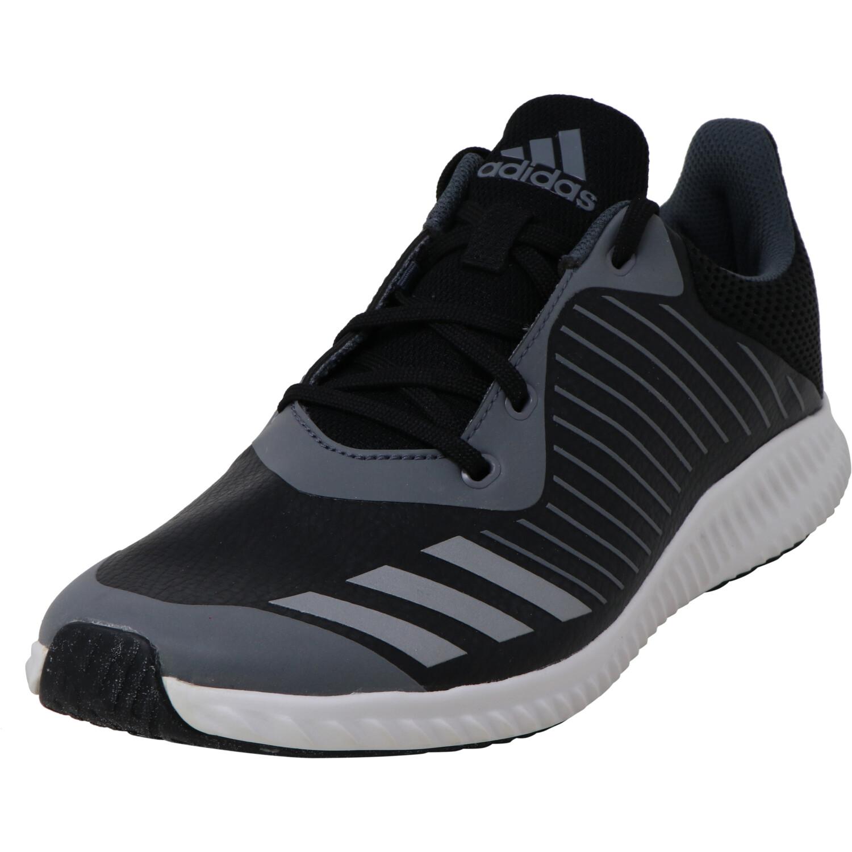 Adidas Fortarun Black / Metallic Silver Onix Ankle-High Fabric Running - 6M