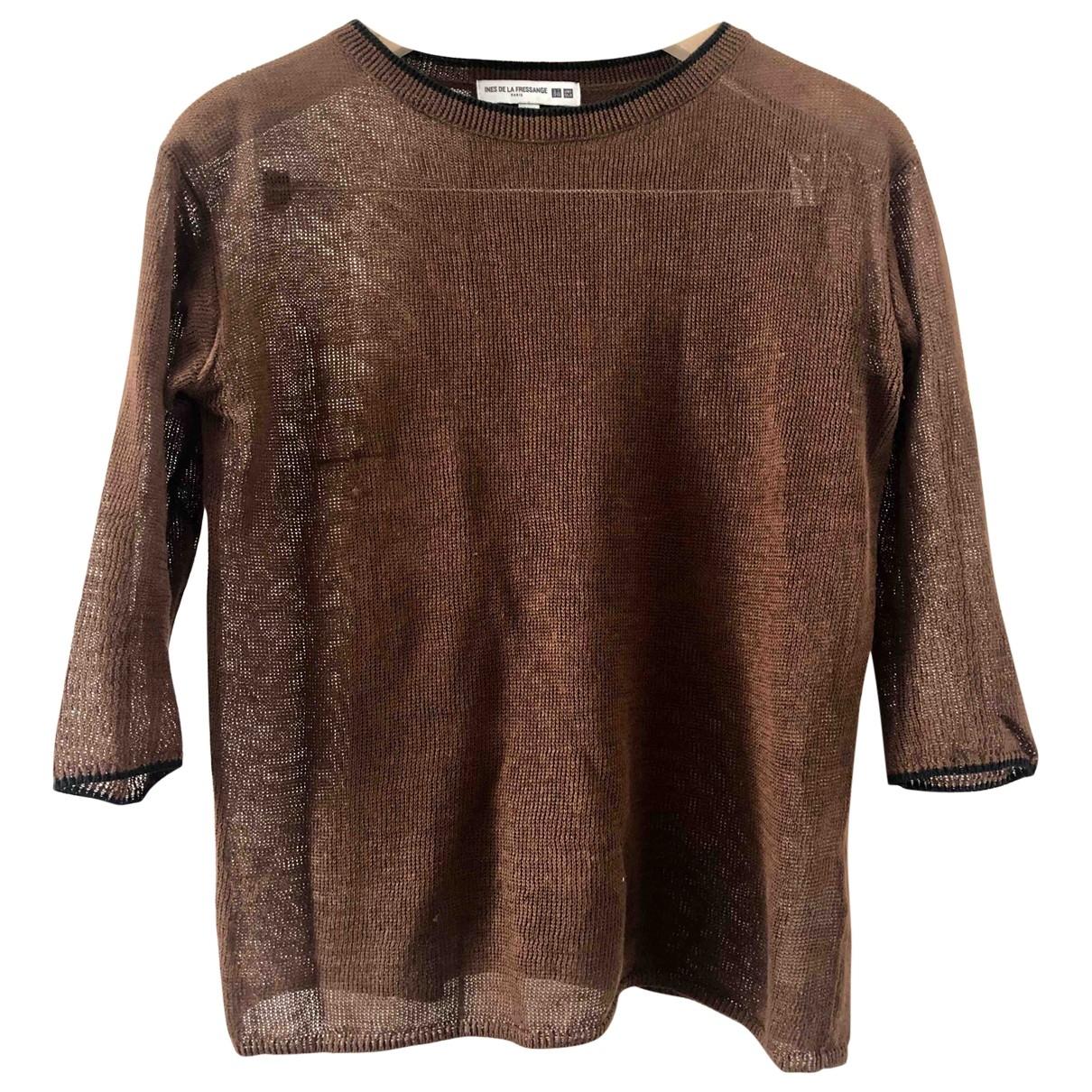 Uniqlo \N Brown Linen Knitwear for Women S International