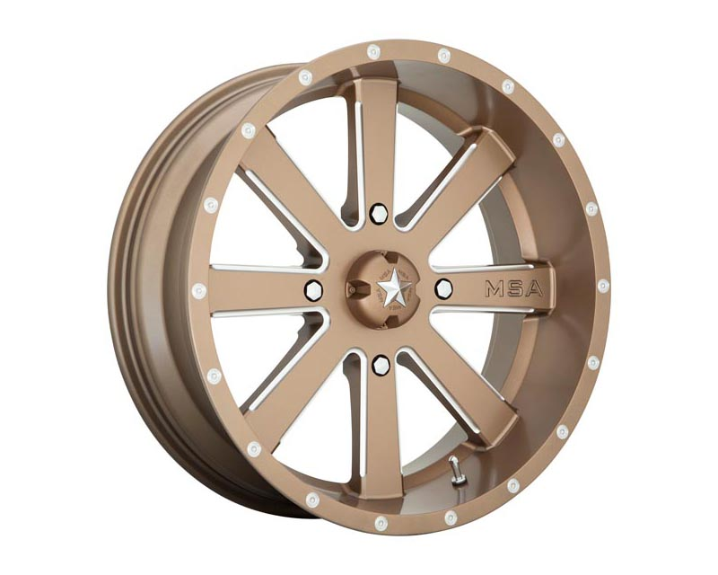 MSA Offroad Wheels M34-020756B Flash Wheel 20x7 4X156 0mm Bronze Milled