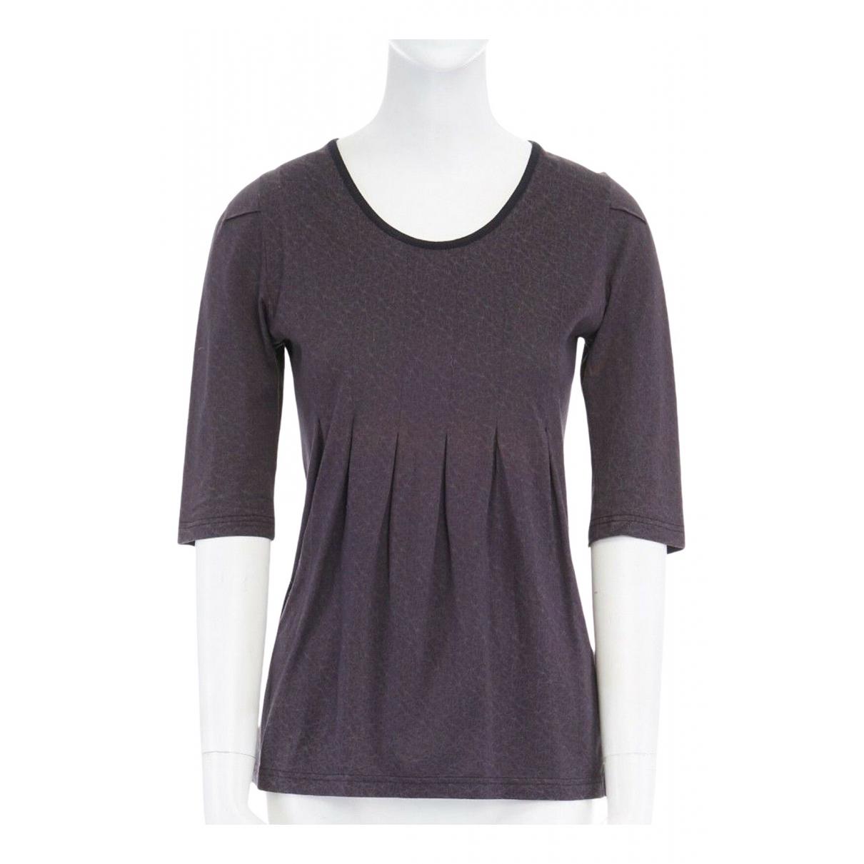 Undercover - Top   pour femme en coton - gris