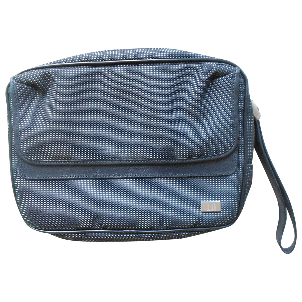 Alfred Dunhill - Petite maroquinerie   pour homme en toile - anthracite