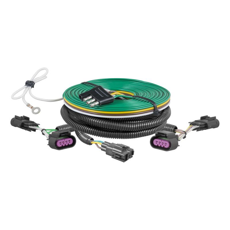 Curt 58900 Custom Towed-Vehicle RV Wiring Harness