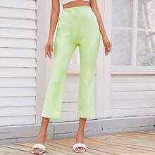 Pantalones Liso Colores Pastel Casual