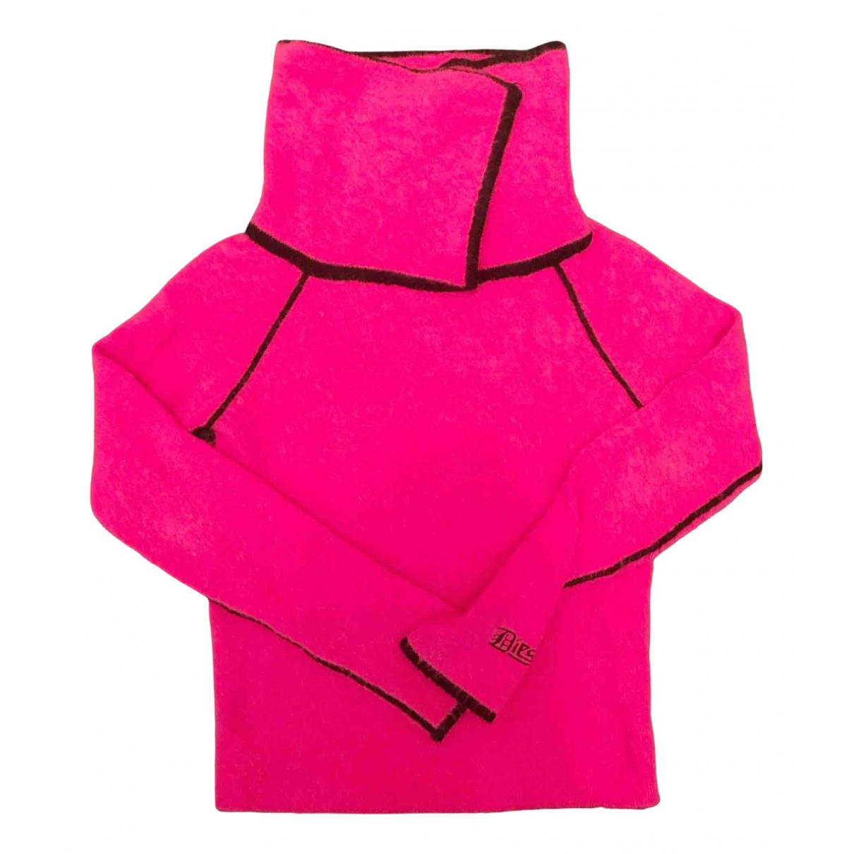 Diesel - Pull   pour femme en laine - rose