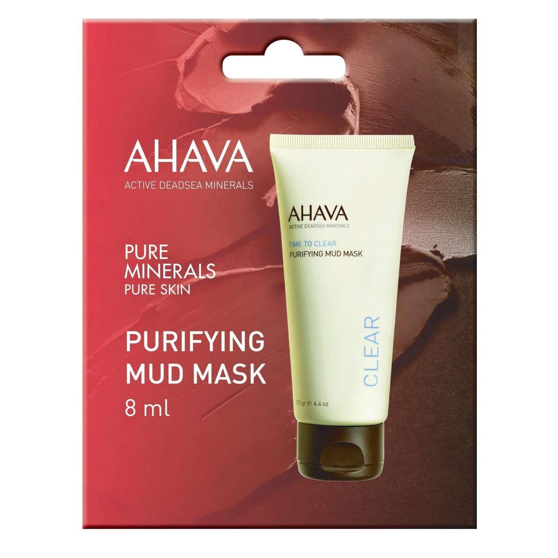 AHAVA PURIFYING MUD MASK [Single Use] (8 ml)