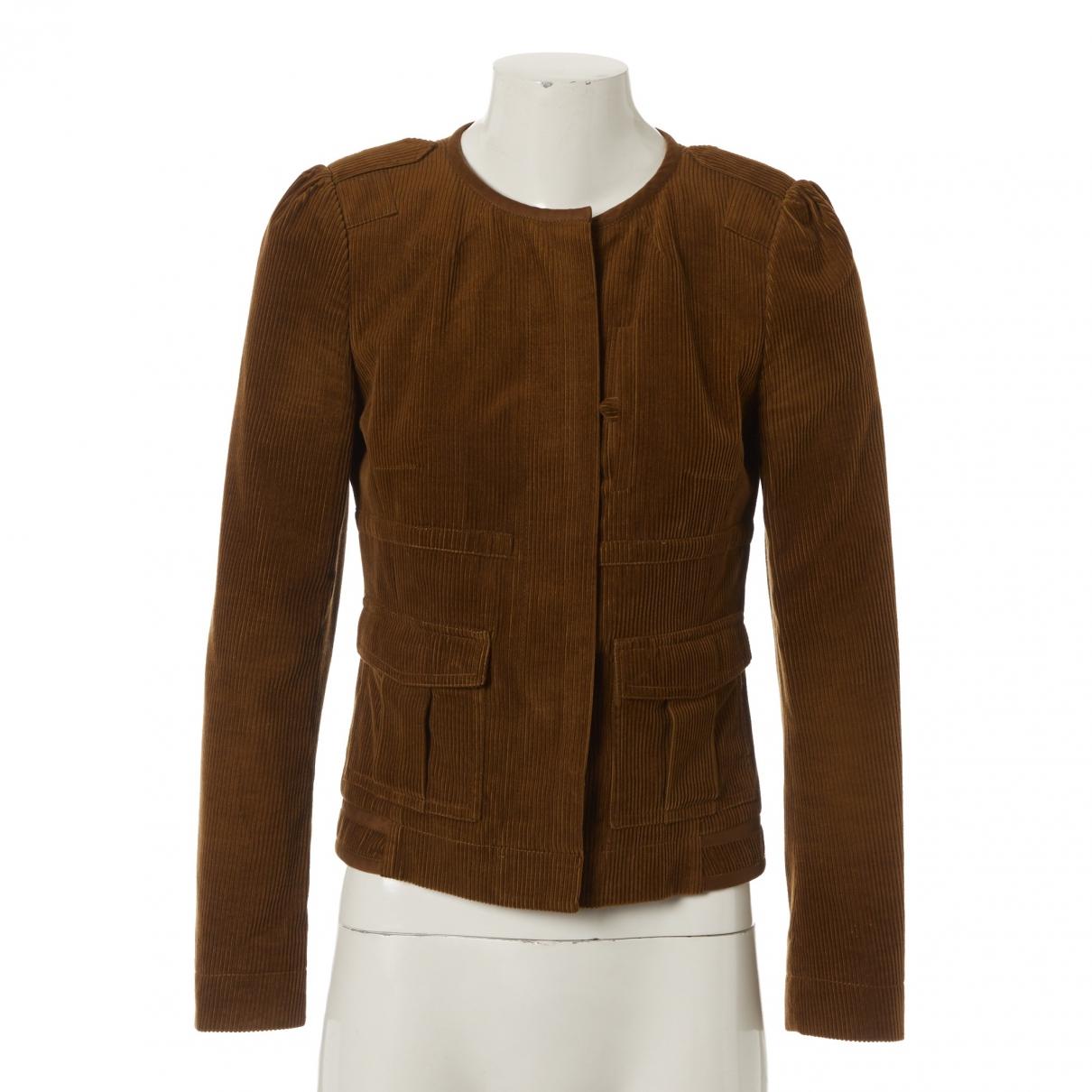 Chloé \N Brown jacket for Women 38 FR