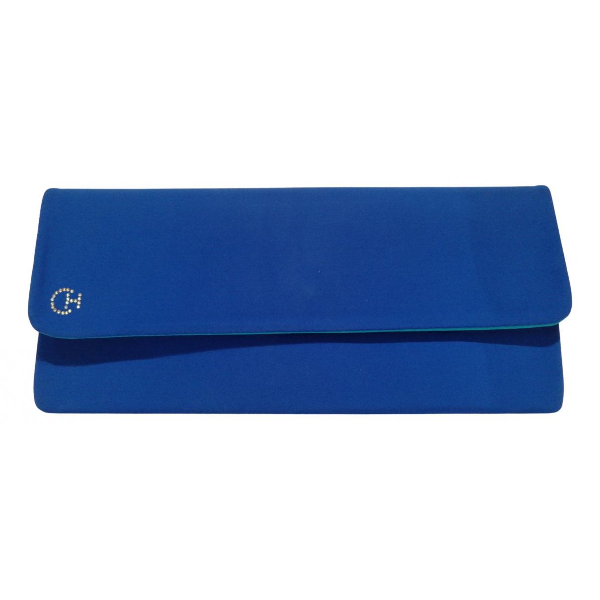 Christys \N Handtasche in  Blau Polyester
