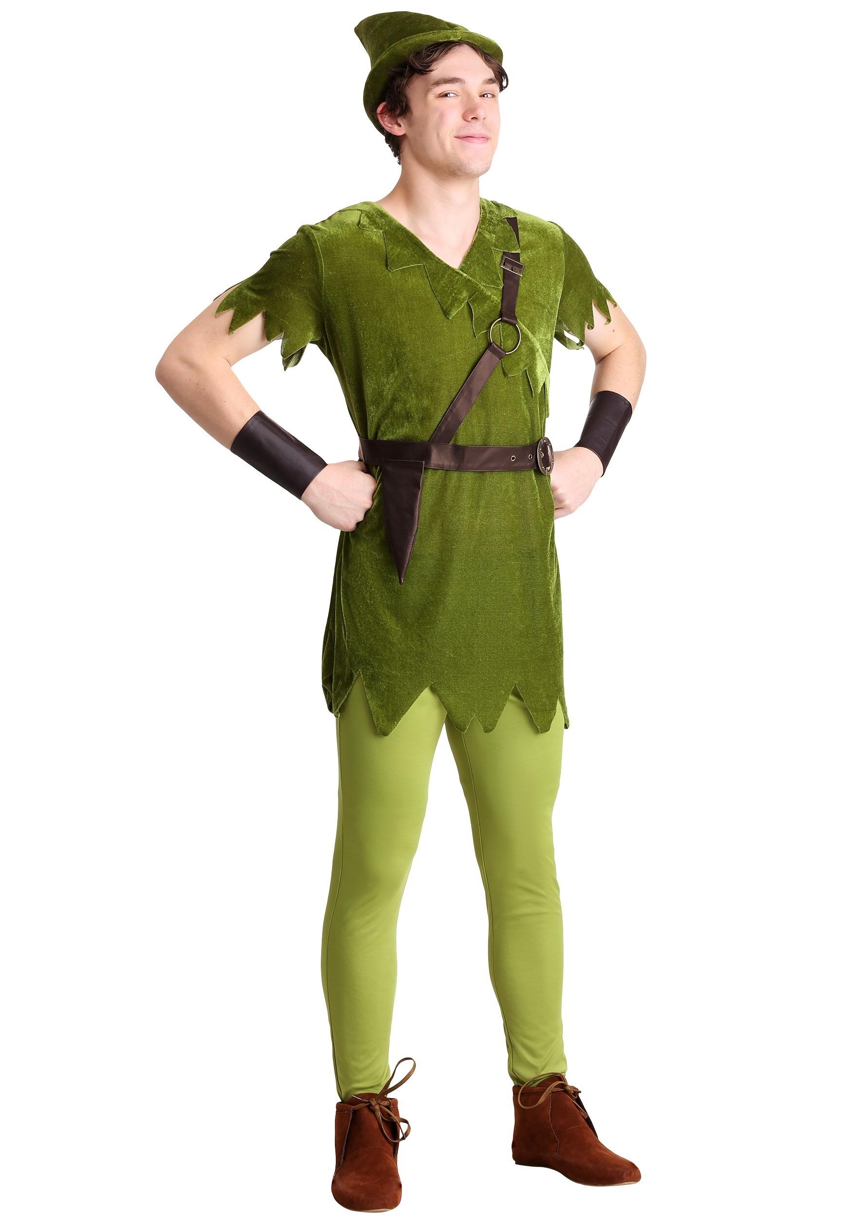 Men's Plus Size Classic Peter Pan Costume