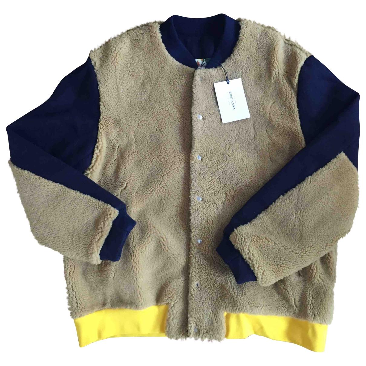 Roseanna \N Camel Shearling coat for Women 38 FR