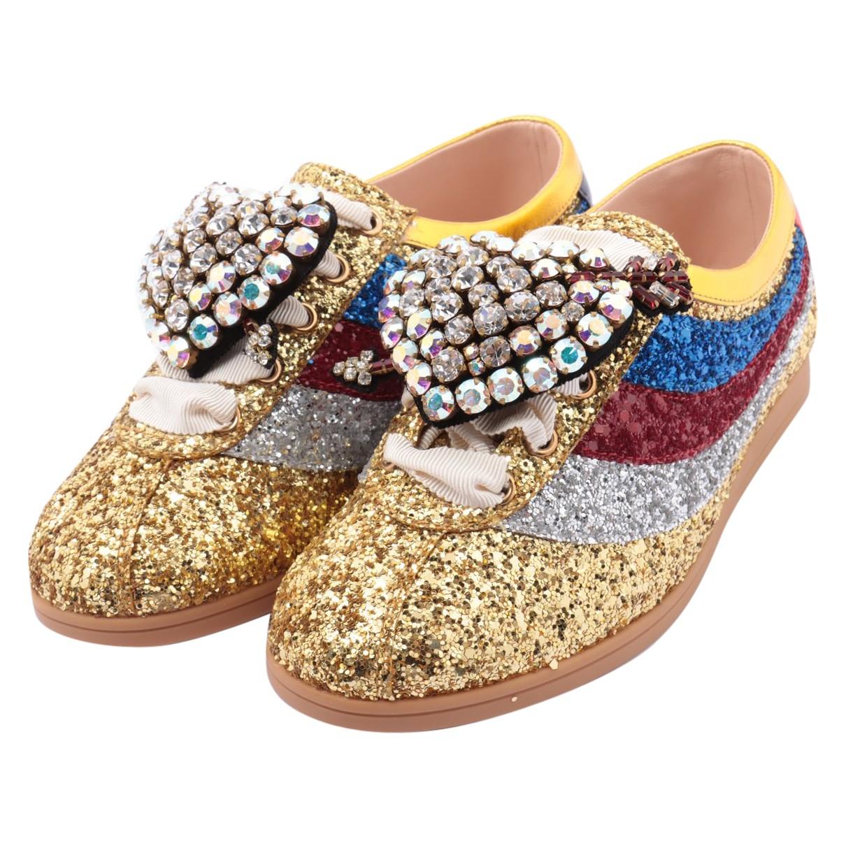 Gucci - Baskets Falacer pour femme en a paillettes - multicolore