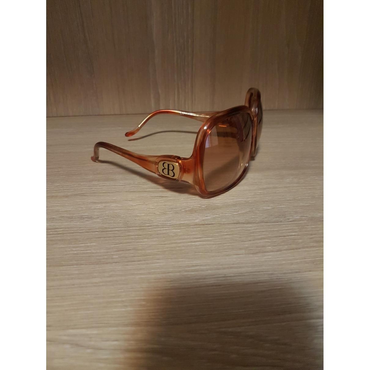 Balenciaga - Lunettes   pour femme - marron
