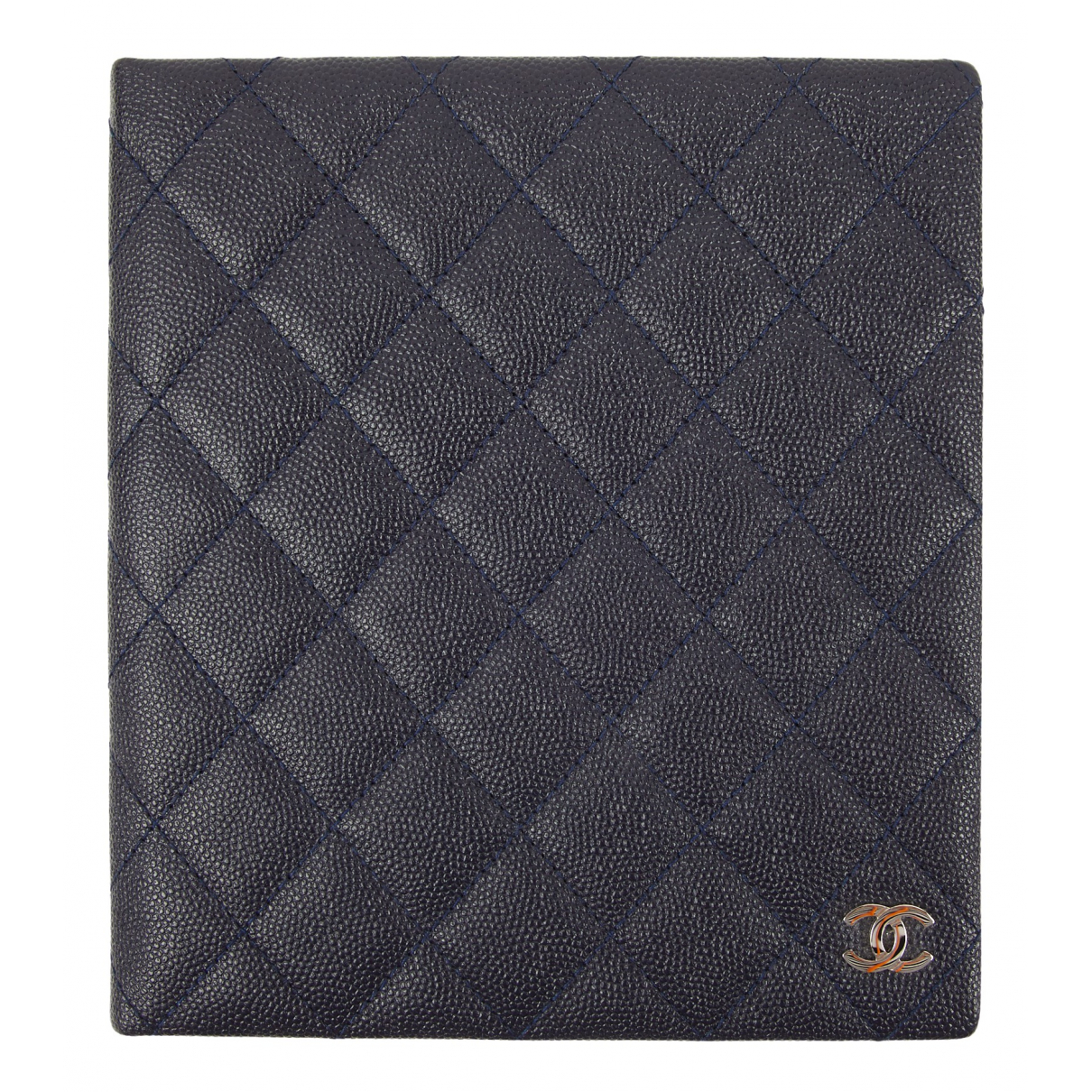 Chanel \N Navy Leather Home decor for Life & Living \N