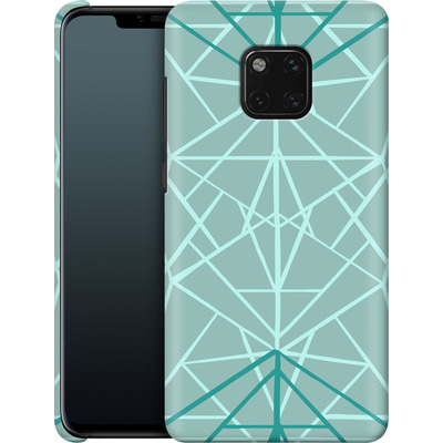 Huawei Mate 20 Pro Smartphone Huelle - Geometric Sketches 3 von Mareike Bohmer
