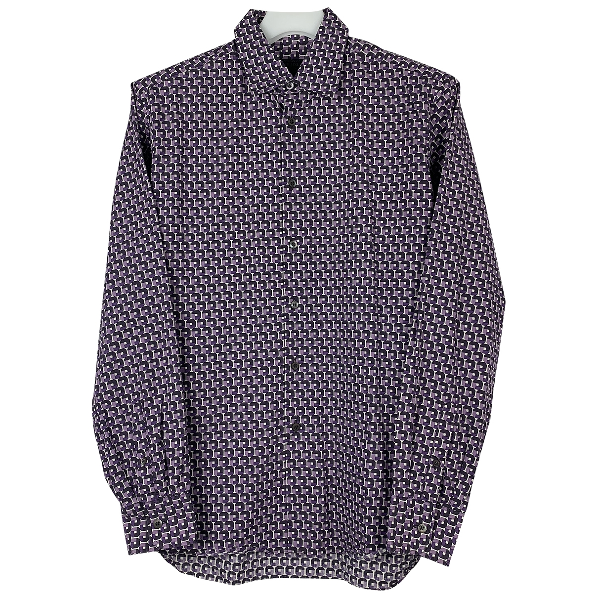 Prada \N Purple Cotton Shirts for Men L International