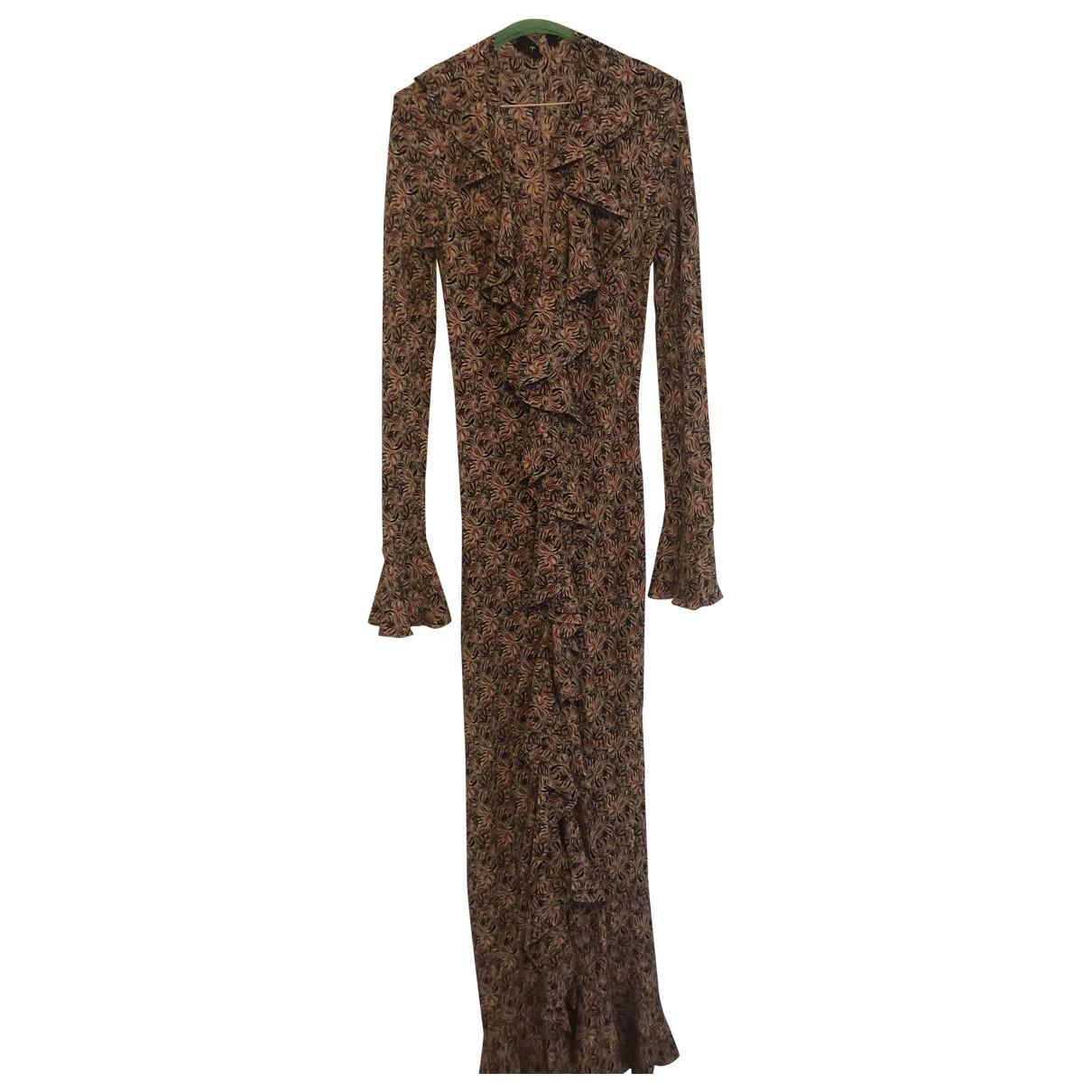 De La Vali - Robe   pour femme en soie - multicolore
