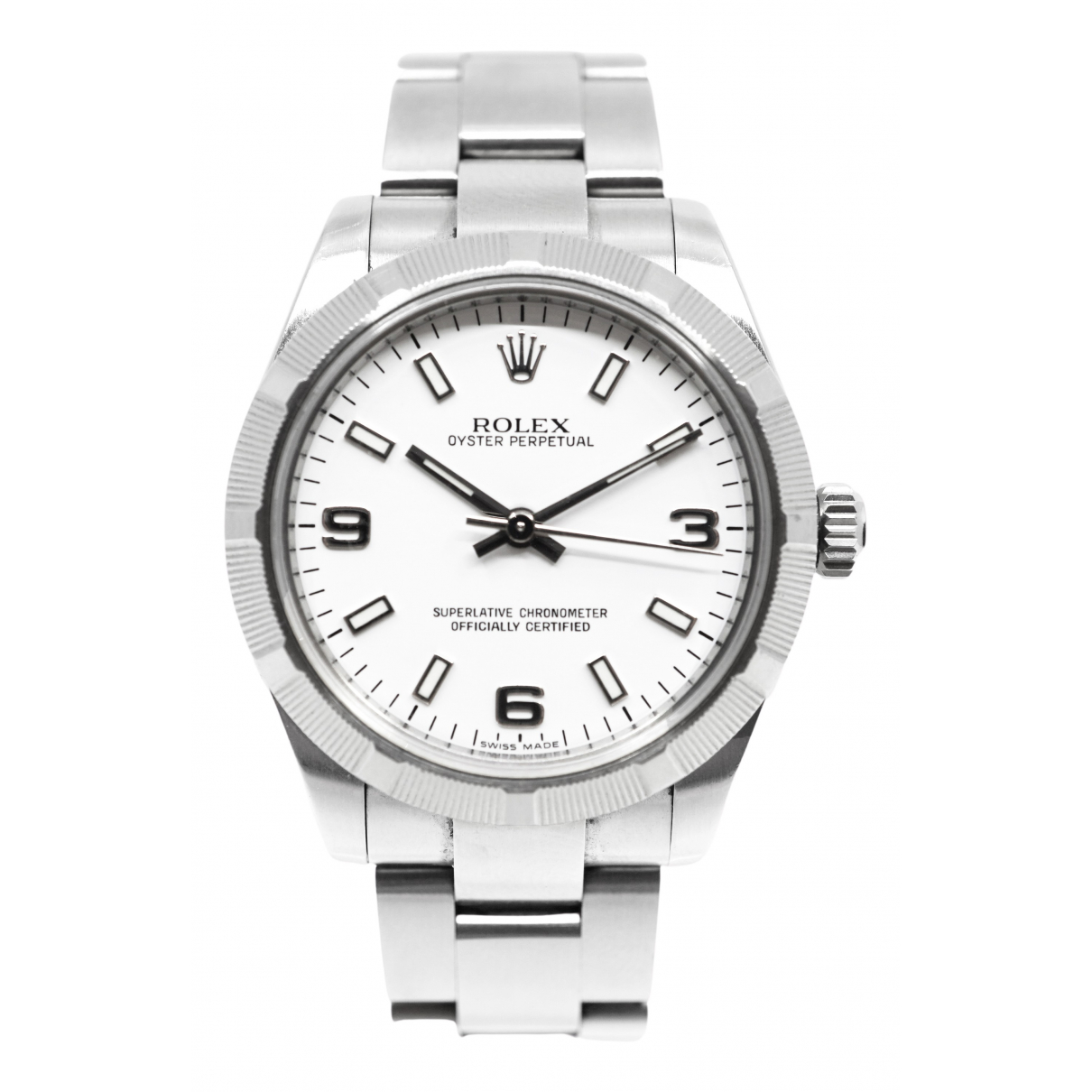 Rolex Oyster Perpetual 31mm Uhr in  Silber Silber